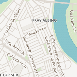 Mapa De Los Patios De Córdoba